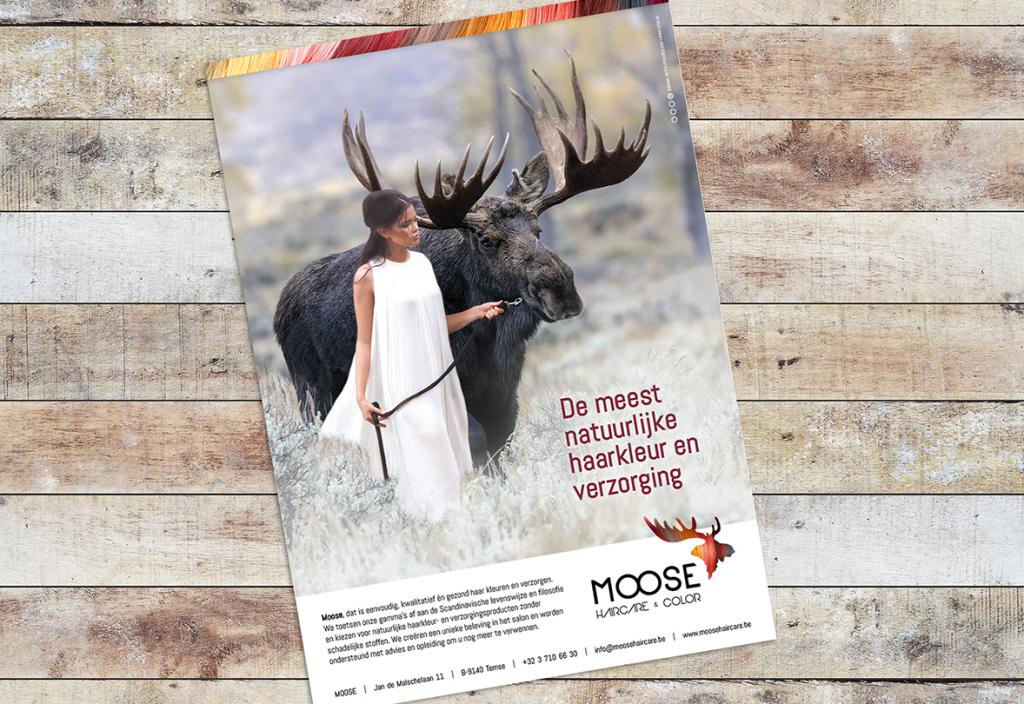 Kleurrijke huisstijl met Scandinavisch tintje voor Moose | DENK!