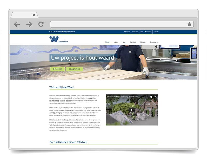 Website InterWest - DENK!