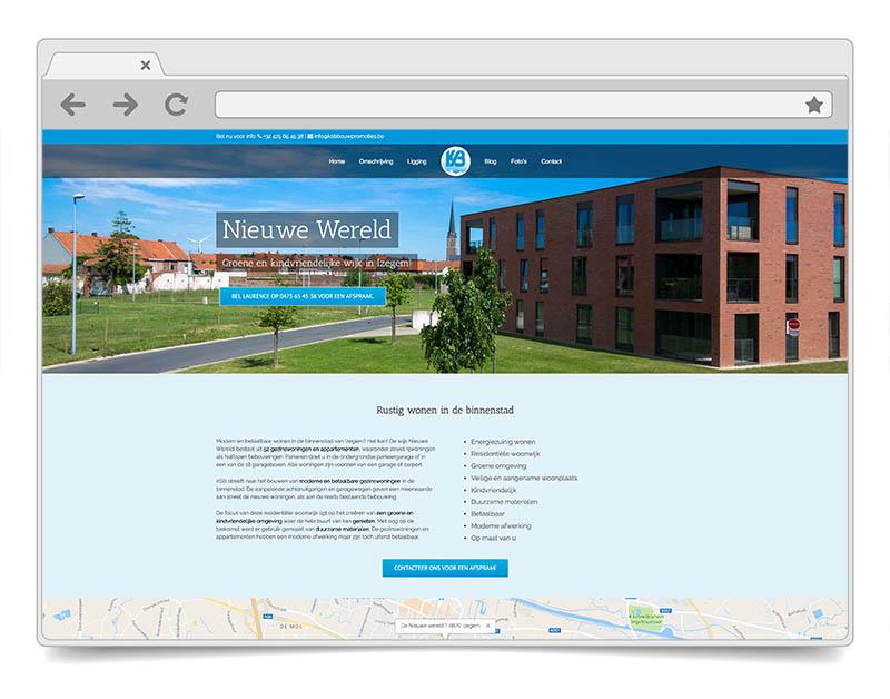 Website Nieuwe Wereld - DENK!
