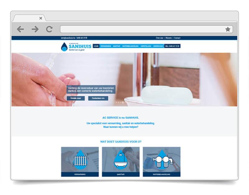 Website Sanihuis
