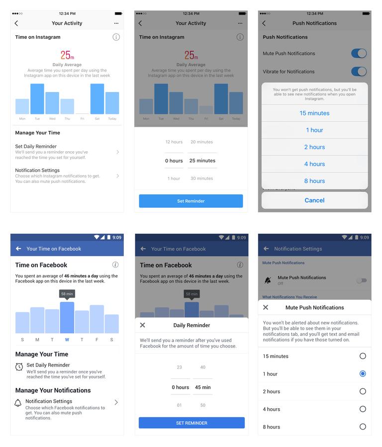 tools timemanagement instagram facebook